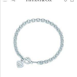 Tiffany & Co Heart Toggle Necklace